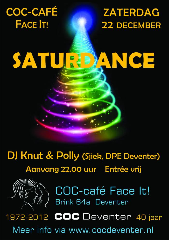 2012-12-22 poster saturdance flyer