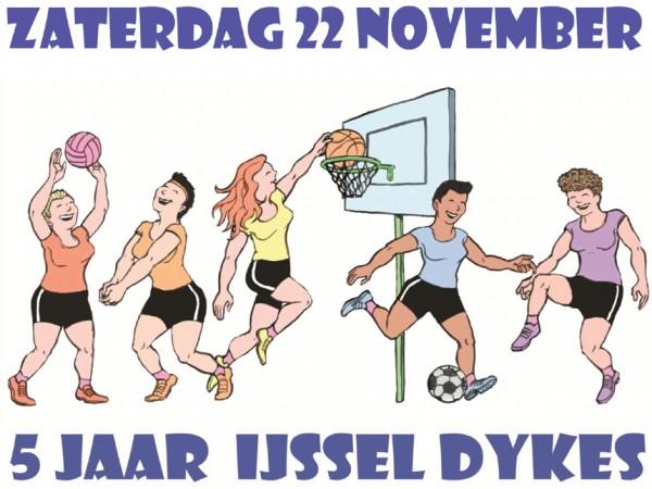 Vijf jaar IJssel Dykes