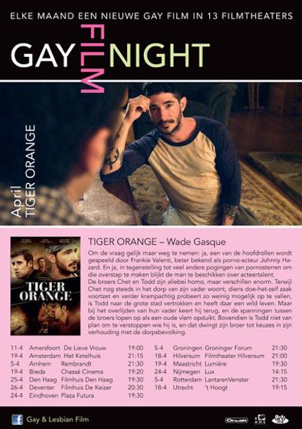 2016-04-26 GayFilmNight april Tiger Orange